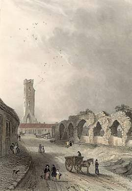 Ruins of the Dominican Priory Drogheda