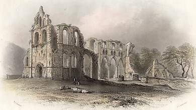 Dundrennan Abbey, Retreat of Queen Mary After the Battle of Langsyde