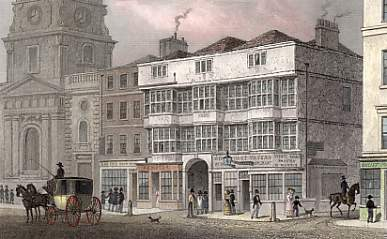 The Old White Hart Tavern, Bishopsgate Street, Now Pulled Down