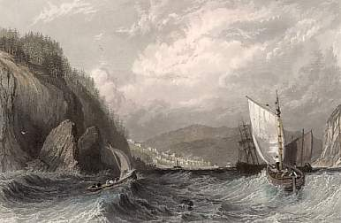 Cromarty Bay, from the East, Cromarty-shire