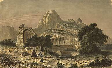 Ruins of the Temple of Zaghouan
