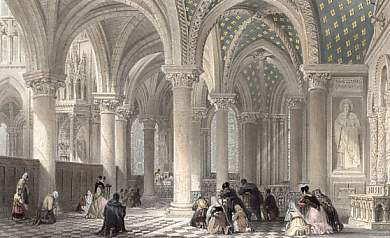 Chapel of the Virgin. Abbey Church St Denis