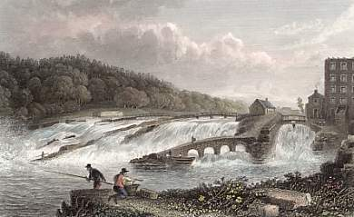 The Coleraine Salmon Leap, C° Londonderry