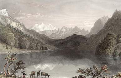 Lake of Lungern, Canton of Unterwalden
