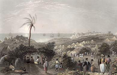 Encampment of Ibrahim Pasha, Near Jaffa