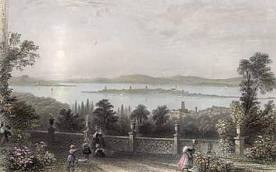 Constance and the Lake, from Chateau Wolfsberg, Canton Thurgau
