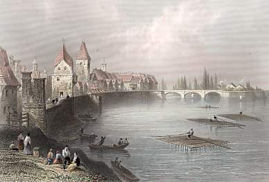 Walls and Bridge of Ulm