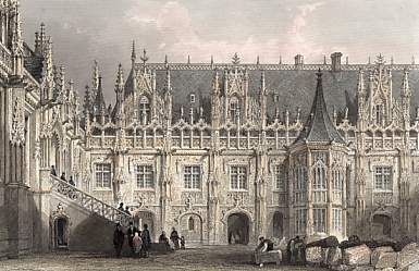 Palace of Justice,  Rouen