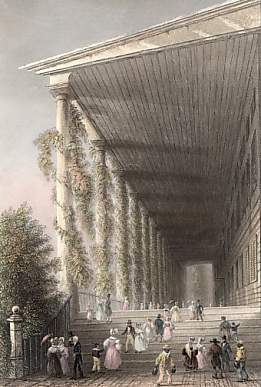 Colonnade of Congress-Hall, Saratoga Springs