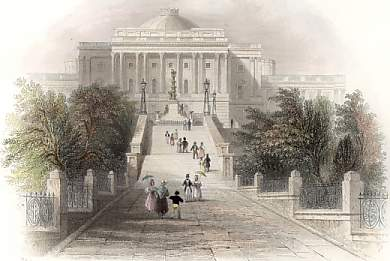 Ascent to the Capitol, Washington