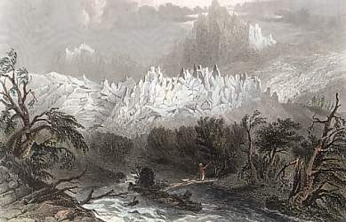 Glacier of Bossons, Valley of Chamouni