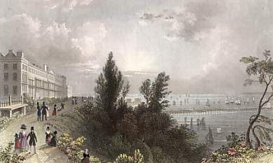 Southend Terrace, Essex, Shewing the Mouth of the Thames