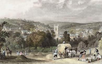 View of the Town of Bodmin, Cornwall