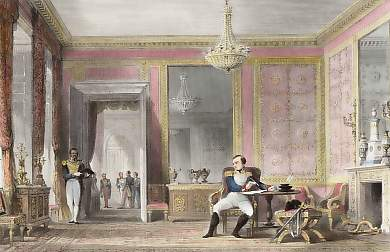 The Salon D´Abdication, Fontainebleau