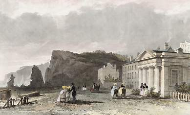 The Baths on the Beach, Dawlish, Devonshire