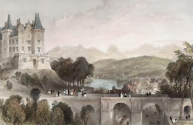 Castle of Pau, the Birth-Place of Henri Quatre