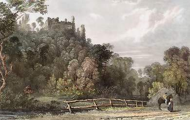 Berry-Pomeroy Castle, Near Totness