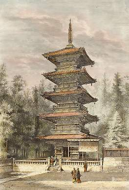 Nikko, Temple Bouddhiste