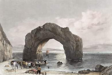 Arched Rock, Isle of Wight