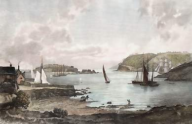 St. Nicholas´s or Drake´s Island, Mount Edgcumbe & Penlee Point