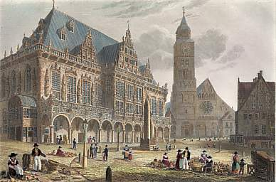 The Town Hall, Bremen
