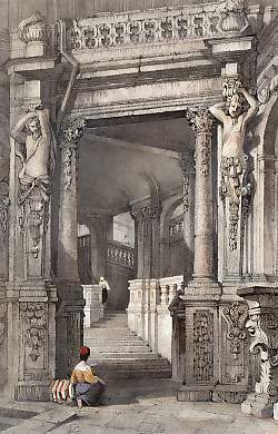 Interior of Zwinger Palace, Dresden