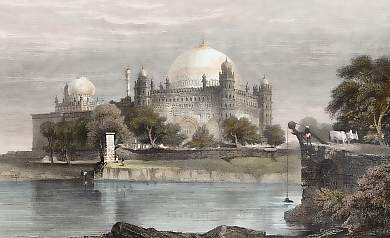 Sultan Mahomed Shah´s Tomb, Bejapore