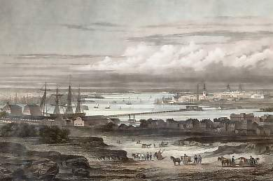 The Hudson, New York and Brooklyn, from the Navy-Yard