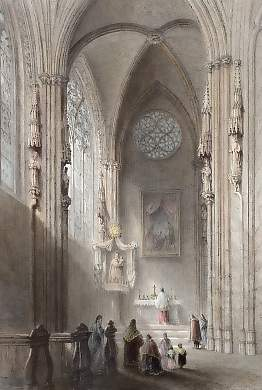 St Stephen´s Chapel, in the Cathedral of Vienna