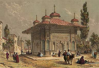Fountain in the Seraglio, Constantinople