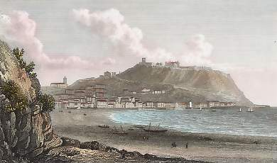 Scarborough, Castle and Bay