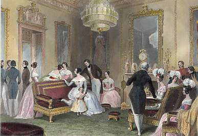 Buckingham Palace, the Yellow Drawing Room