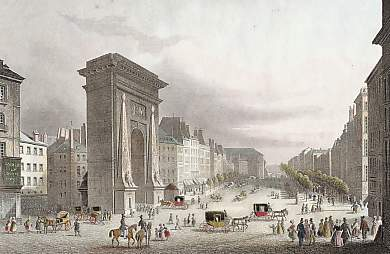 Porte Saint-Denis & Boulevards, Paris