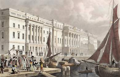 The New Custom House, from Billingsgate
