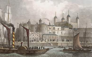 Tower of London, from the Thames