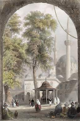 Court of The Mosque of Eyoub