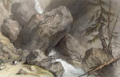 Scene in the Val Isere, Near Tignes, Savoy