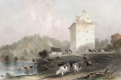 Gilnockie, or Johnny Armstrong´s Tower, Dumfries-shire