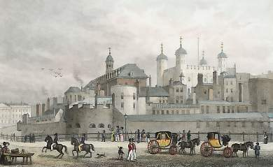 The Tower of London, from Tower Hill