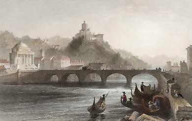 The Bridge of the Po, Turin