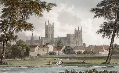 Canterbury, from St Stephen´s Road