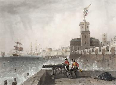 View from the Saluting Platform, Portsmouth