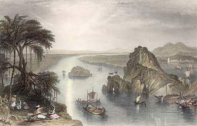Scene at Colgong on the Ganges