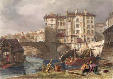 The Old Bridge on the Soane, Lyons